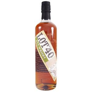 Lot No. 40 - Rye Whisky