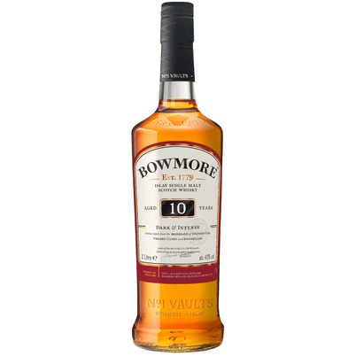 Bowmore, 10 Y - Dark & Intense